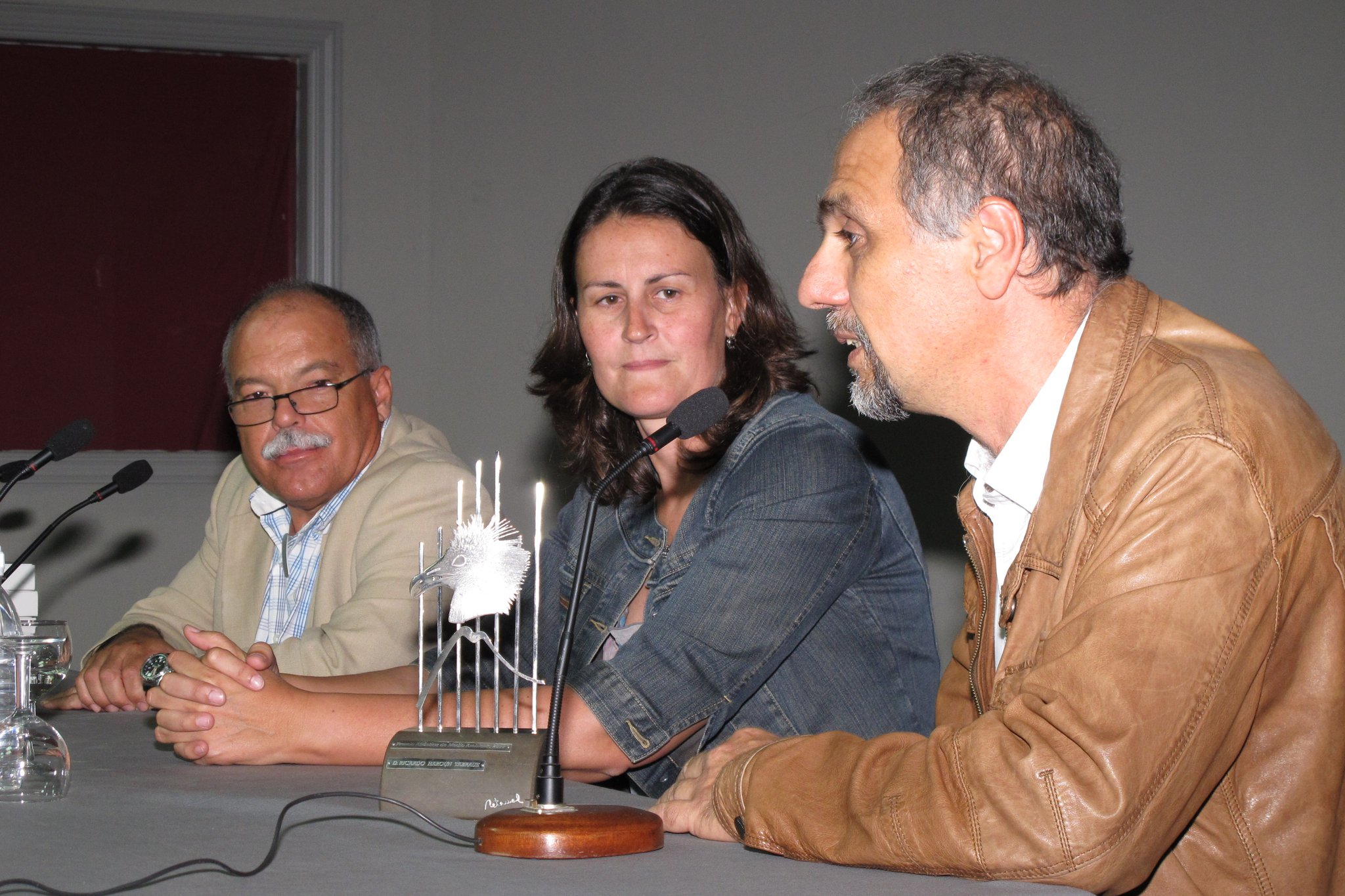 Ricardo Haroun es el primero por la derecha de la imagen