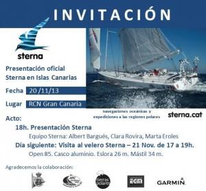 Invitacion presentacion Sterna RCN Gran Canaria v2